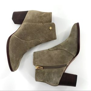 NEW Tory Burch Sabe Suede Ankle Boot | 9.5